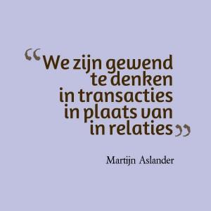 quote Martijn Aslander